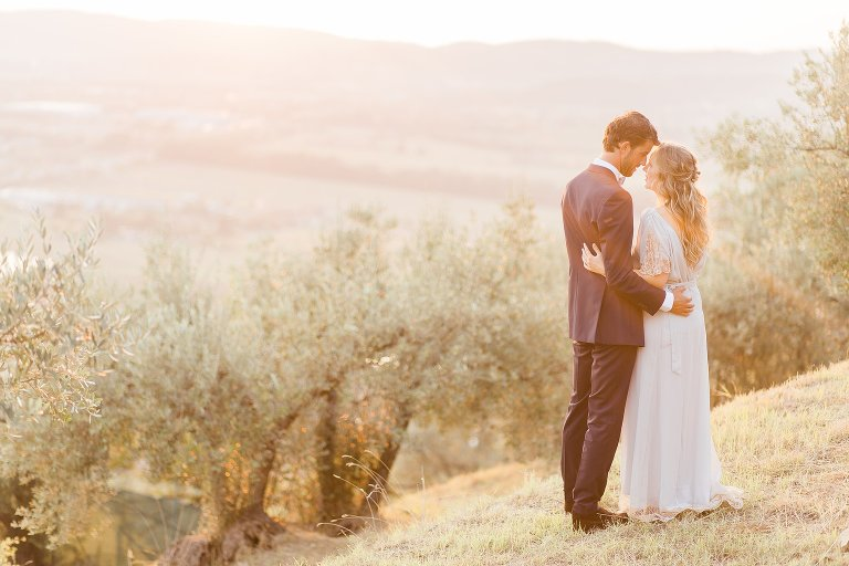 Fine Art Wedding Photography - Golden Hour