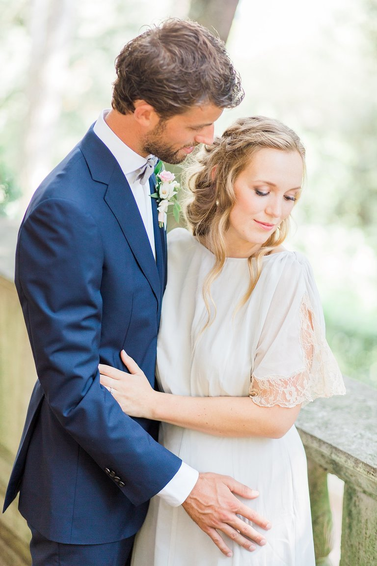 Fine Art Bruidsfotografie Elisabeth Van Lent - Bruid en bruidegom