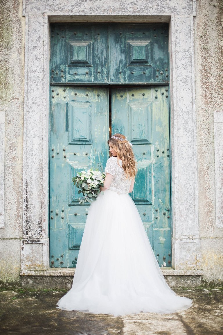 Bridal Soot in Sintra, Portugal - Elisabeth Van Lent Wedding Photography